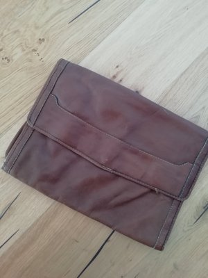 Pochette marron clair-brun