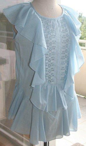 Collection Bluzka z falbankami jasnoniebieski