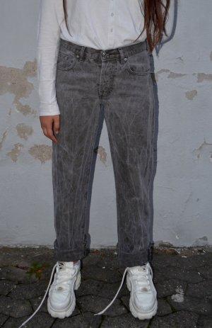 Vintage Pantalone di velluto a coste multicolore