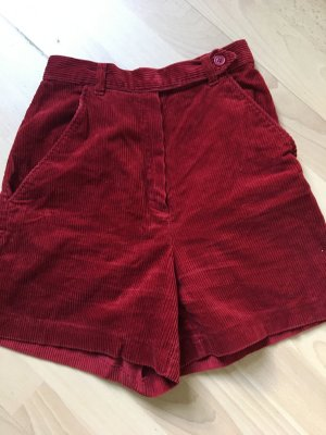 Vintage Cord-Shorts