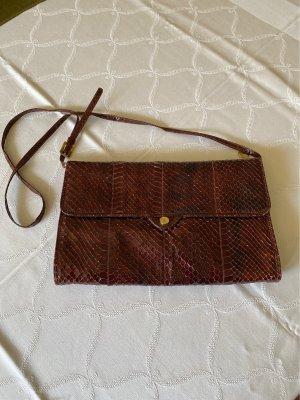 Vintage Croco- Tasche, 60/70er Jahre