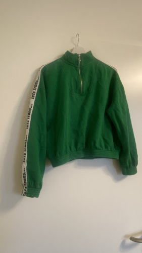 Urban Outfitters Veste sweat blanc-vert