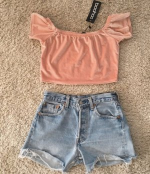 Cropped Top pink-light pink
