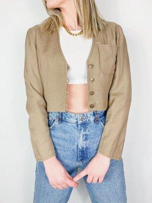 Vintage Cropped Blazer