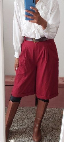 Culotte rouge-rouge fluo