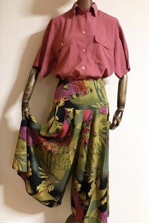 Vintage Culottes multicolored
