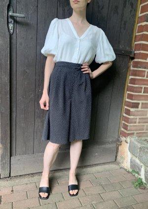 Vintage Culottes zwart-wit