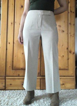 Vintage Jersey Pants cream-light grey polyester