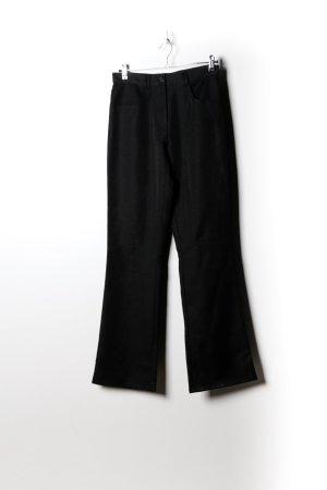Vintage Damen Anzughose in Schwarz