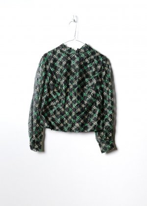 Vintage Damen Bluse in S