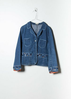 Express Denim Jacket blue denim