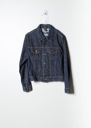 Vintage Damen Denim Jacket in Blau