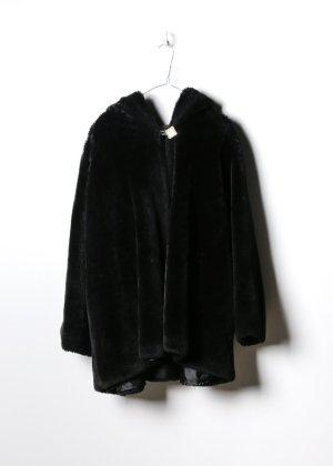 Vintage Damen Fake Fur Mantel in XXL