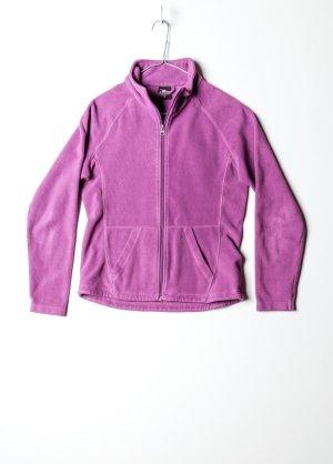 Vintage Damen Fleecepullover in Violett