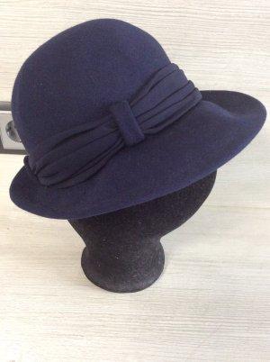 Cloche Hat dark blue