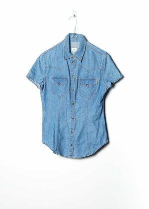 Moschino Long Sleeve Shirt blue denim
