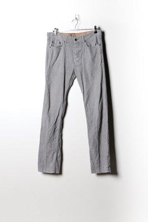 Vintage Damen Kordhose in Grau