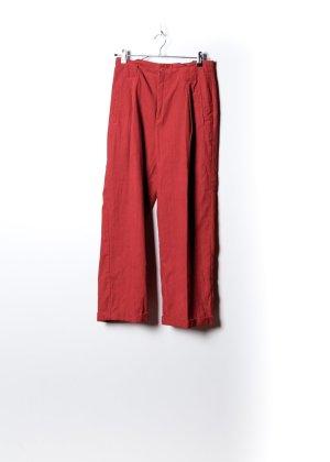 Vintage Damen Kordhose in Rot