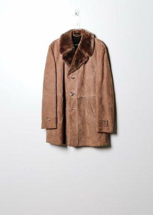 Vintage Damen Mantel in Braun