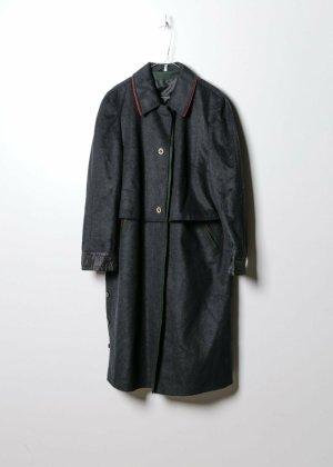 Vintage Damen Mantel in Grau