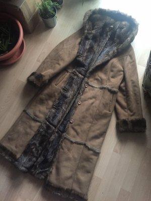 Vintage Damen Mantel mit Kapuze ökologische Produkt