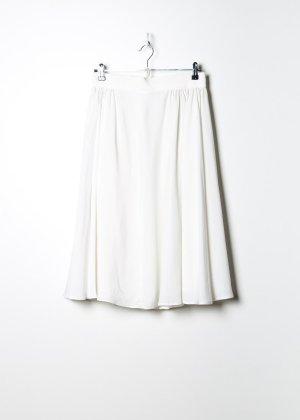 Vintage Damen Sommerrock in Weiß