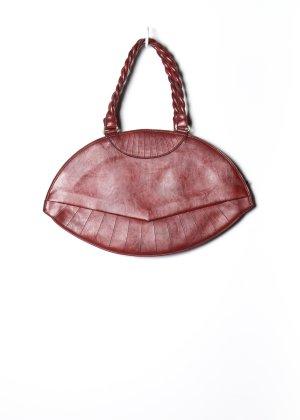 Vintage Damen Tasche in Rot