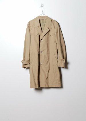 Vintage Damen Trenchcoat in Beige