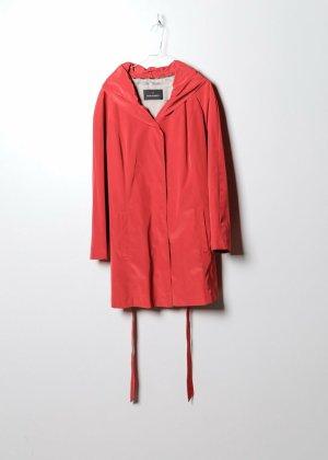 Vintage Damen Trenchcoat in Rot