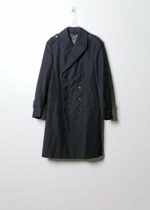 Vintage Damen Trenchcoat in Schwarz