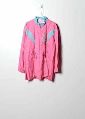 Vintage Damen Windbreaker in Pink