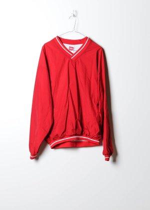 Vintage Damen Windbreaker in Rot