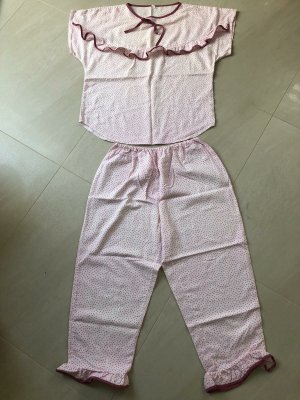 Vintage Damenpyjama, Gr. M/L