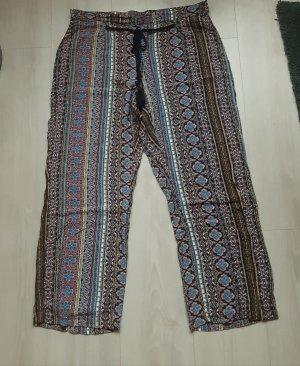 Vintage Pantalon 7/8 multicolore