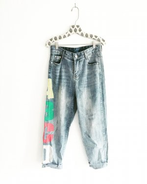 Vintage • denim • blue jeans • boyfriendstyle • oversized