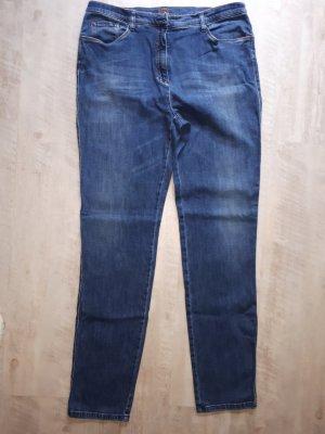 Brax Jeansy z wysokim stanem niebieski-ciemnoniebieski