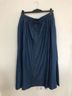 Denim Skirt blue-dark blue
