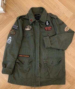 Diesel Militair jack khaki