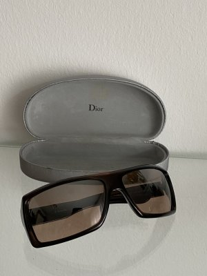 Dior Angular Shaped Sunglasses black-silver-colored