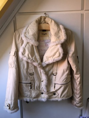Dior Giacca invernale crema-bianco sporco