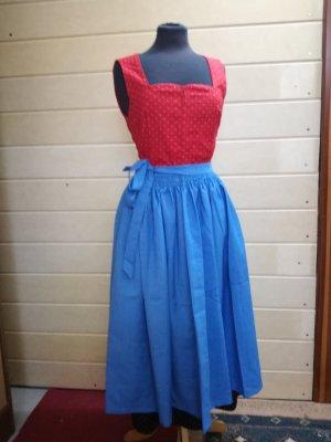 Vintage Dirndl Gr. 36, Trachtenkleid, Kleid mit Schürze