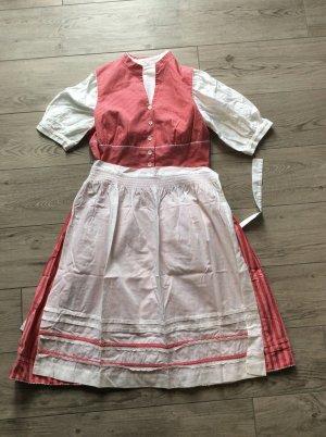 Vintage Dirndl Gr 44/46 hochgeschlossen mit Bluse