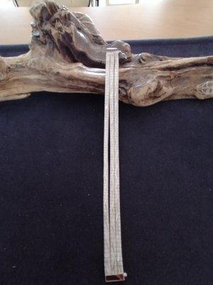 Vintage dreireihiges Armband 835er Silber rhodiniert aus den 70ern