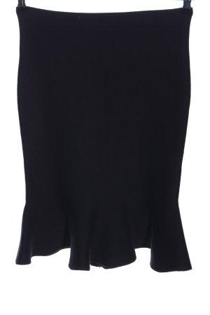 Vintage Dressing Strickrock schwarz Business-Look