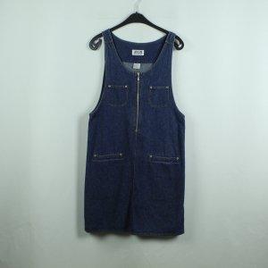 Vintage Dungaree Jeanskleid Gr. M blau (20/07/082*)