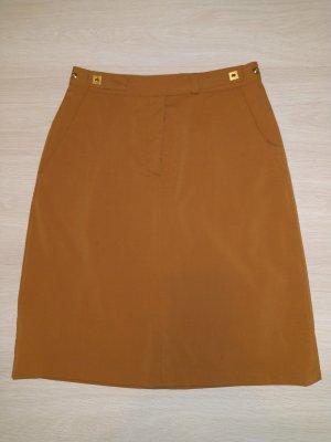 Diane von Furstenberg High Waist Skirt light brown-ocher