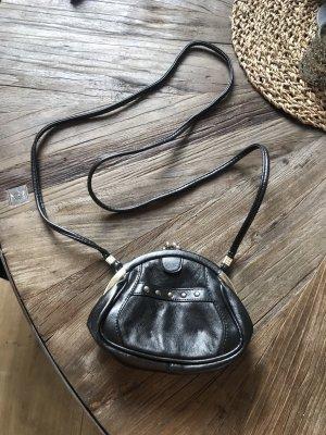 Vintage Echtleder Clutch