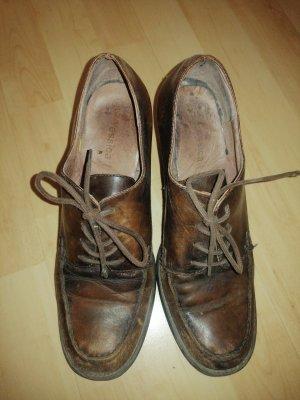 C&A Yessica Chaussures à lacets brun-brun foncé