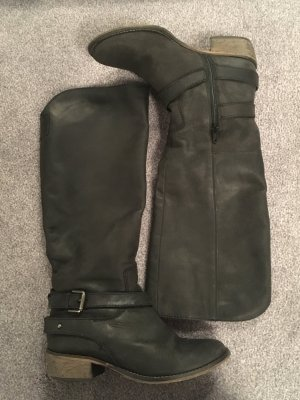 Vintage-Echtlederstiefel Gr. 38 Görtz-Shoes