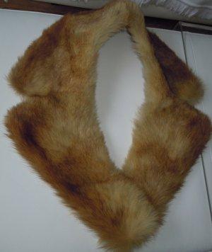 VINTAGE Echtpelzkragen Fuchsfell zur Veredelung von Mänteln,  Jacken etc.